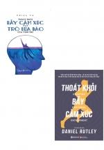 Combo Sách Thoát Khỏi Bẫy Cảm Xúc Hay Trò Lừa Đảo Của Tâm Trí + Thoát Khỏi Bẫy Cảm Xúc (Bộ 2 Cuốn)