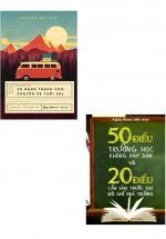 Combo Sách 20 Hành Trang Cho Chuyến Xe Tuổi 20S + 50 Điều Trường Học Không Dạy Bạn Và 20 Điều Cần Làm Trước Khi Rời Ghế Nhà Trường (Bộ 2 Cuốn)