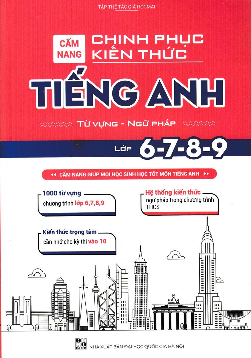 Cẩm Nang Chinh Phục Kiến Thức Môn Tiếng Anh Lớp 6,7,8,9