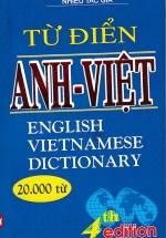Từ Điển Anh - Việt (20000 Từ)