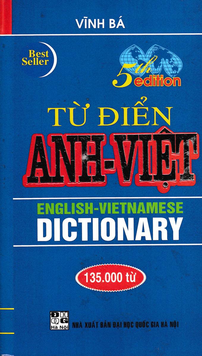 Từ Điển Anh - Việt 135000 Từ (Bìa Cứng)
