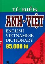 Từ Điển Anh - Việt 95000 Từ (Bìa Cứng)