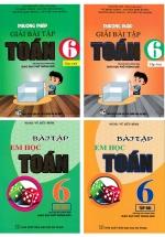 Combo Phương Pháp Giải Bài Tập Toán 6 + Bài Tập Em Học Toán Lớp 6 - Theo Chương Trình Giáo Dục Phổ Thông Mới (Bộ 4 Cuốn)