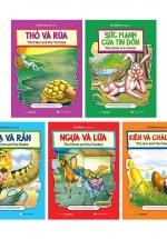 Bộ Truyện Cổ Tích Nước Ngoài Song Ngữ Anh - Việt 1 (Bộ 5 Cuốn)