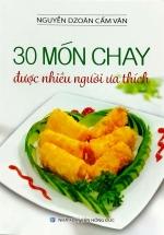 30 Món Chay Được Nhiều Người Ưa Thích