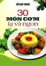 30 Món Cơm Lạ Và Ngon