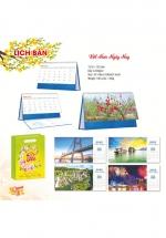 Lịch Để Bàn Chữ A 2022 (16 x 24 cm) Có Note - Việt Nam Ngày Nay - NS116