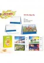 Lịch Để Bàn Chữ A 2022 (16 x 24 cm) Không Note - Việt Nam Ngày Nay - NS115