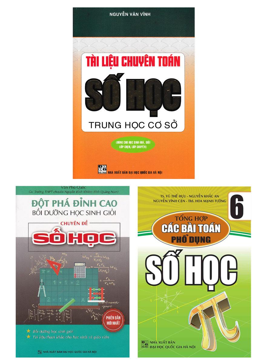 Combo Bộ Sách Về Chuyên Đề Toán Số Học (Bộ 3 Cuốn)