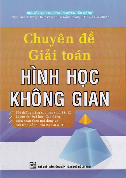 Chuyên Đề Giải Toán Hình Học Không Gian - EBOOK/PDF/PRC/EPUB