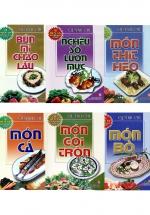 Combo 60 Món Ăn Được Ưa Thích (Bộ 6 Cuốn)