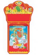 Lịch Treo Tường 52 Tuần 2022 (28 x 39cm) - Tài Lộc - Thịnh Vượng Và Phát Triển - HNS19