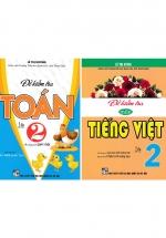Combo Đề Kiểm Tra Toán - Tiếng Việt Lớp 2 (Bám Sát SGK Chân Trời Sáng Tạo)