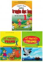 Combo Kể Chuyện Theo Tranh - Tuyển Chọn Những Truyện Đọc Hay Cho Học Sinh Lớp 1 (Bộ 3 Cuốn)