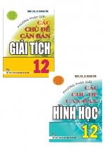 Combo Sách Phương Pháp Giải Các Chủ Đề Căn Bản Toán 12 (Bộ 2 Cuốn)