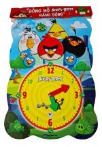 Đồng Hồ Angrybirds Năng Động - Dành Cho Bé Từ 3 - 6 Tuổi