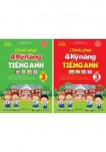 Combo Chinh Phục 4 Kỹ Năng Tiếng Anh Nghe - Nói - Đọc - Viết Lớp 3 - Tập 1+2 (Bộ 2 Cuốn)
