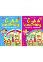 Combo English Handwriting - Vở Tập Viết Tiếng Anh Lớp 3 Tập 1+2 (Bộ 2 Cuốn)