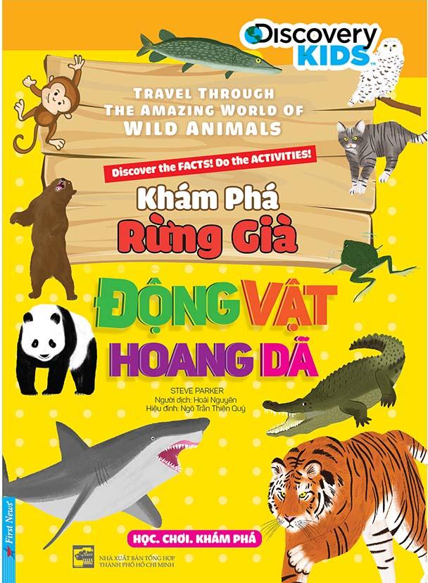 Khám Phá Rừng Già - Động Vật Hoang Dã - EBOOK/PDF/PRC/EPUB
