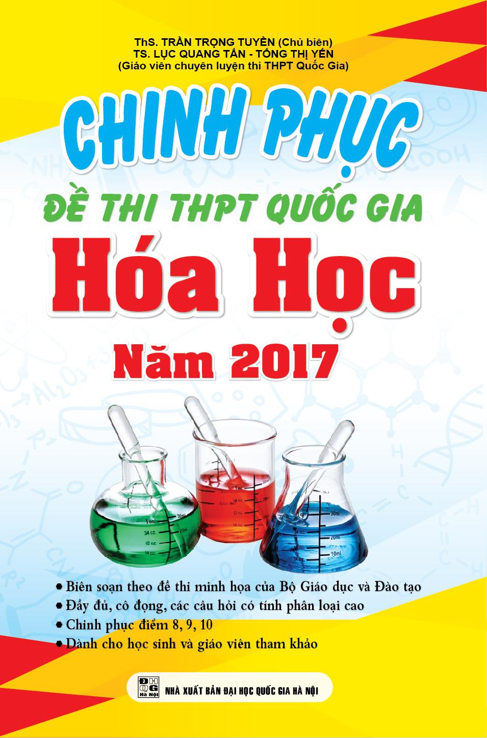 Chinh Phục Đề Thi THPT Quốc Gia 2017 Môn Hóa Học - EBOOK/PDF/PRC/EPUB