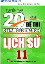 Tuyển Tập 20 Năm Đề Thi Olympic Lịch Sử Lớp 11