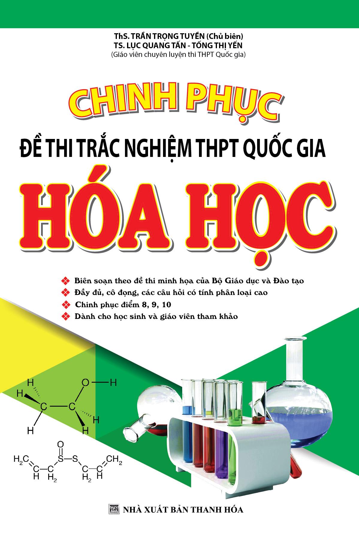 Chinh Phục Đề Thi Trắc Nghiệm THPT Quốc Gia Hóa Học - EBOOK/PDF/PRC/EPUB
