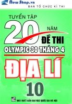 Tuyển Tập 20 Năm Đề Thi Olympic Địa Lí Lớp 10