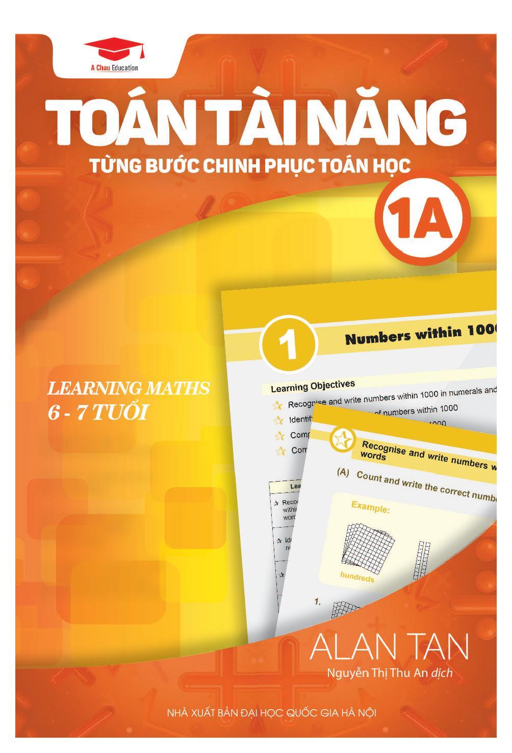 Toán Học Singapore - Toán Tài Năng - Từng Bước Chinh Phục Toán Học - Tập 1A - EBOOK/PDF/PRC/EPUB