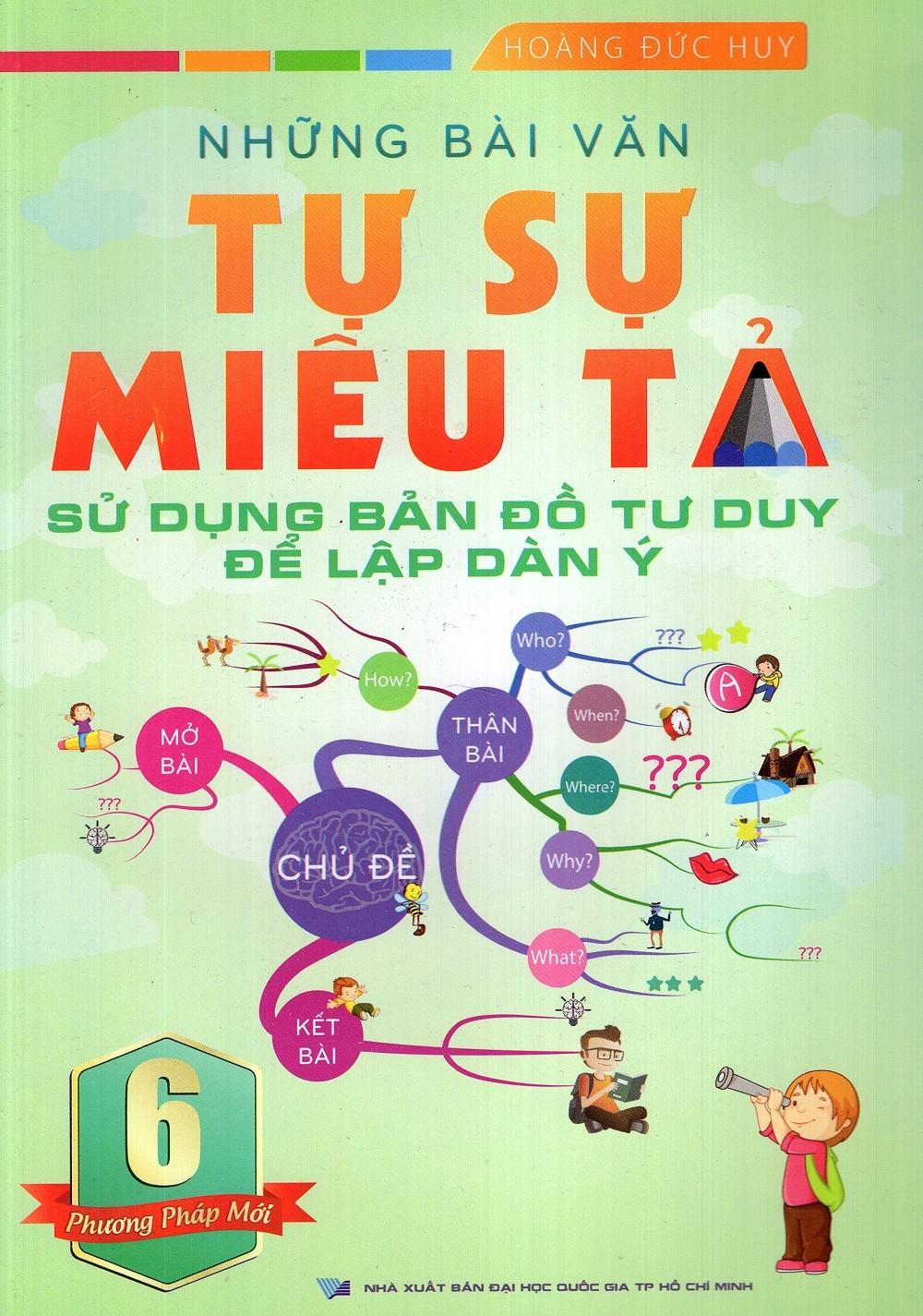 Những Bài Văn Tự Sự Miêu Tả Lớp 6 - Sử Dụng Bản Đồ Tư Duy Để Lập Dàn Ý - EBOOK/PDF/PRC/EPUB