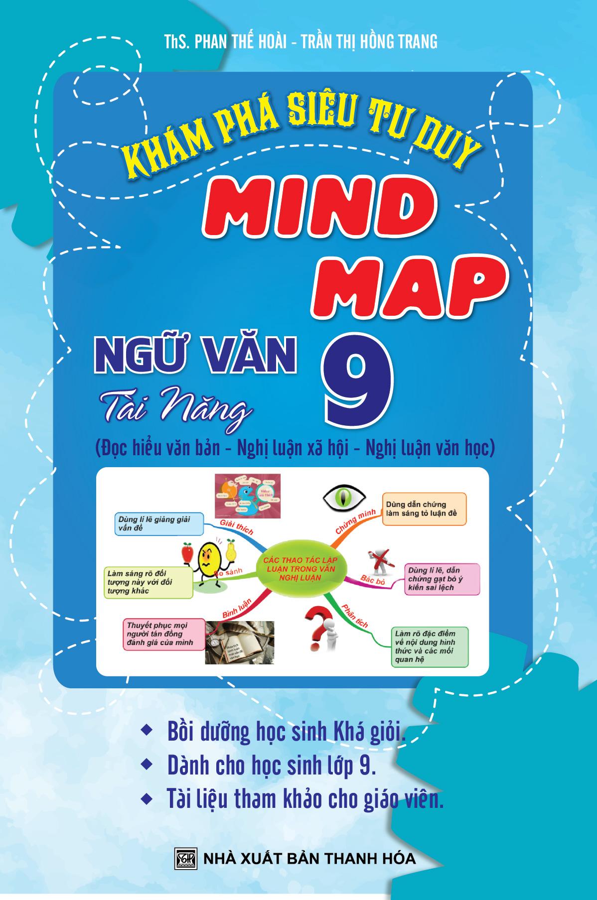 Khám Phá Siêu Tư Duy Mind Map Ngữ Văn Tài Năng 9 - EBOOK/PDF/PRC/EPUB