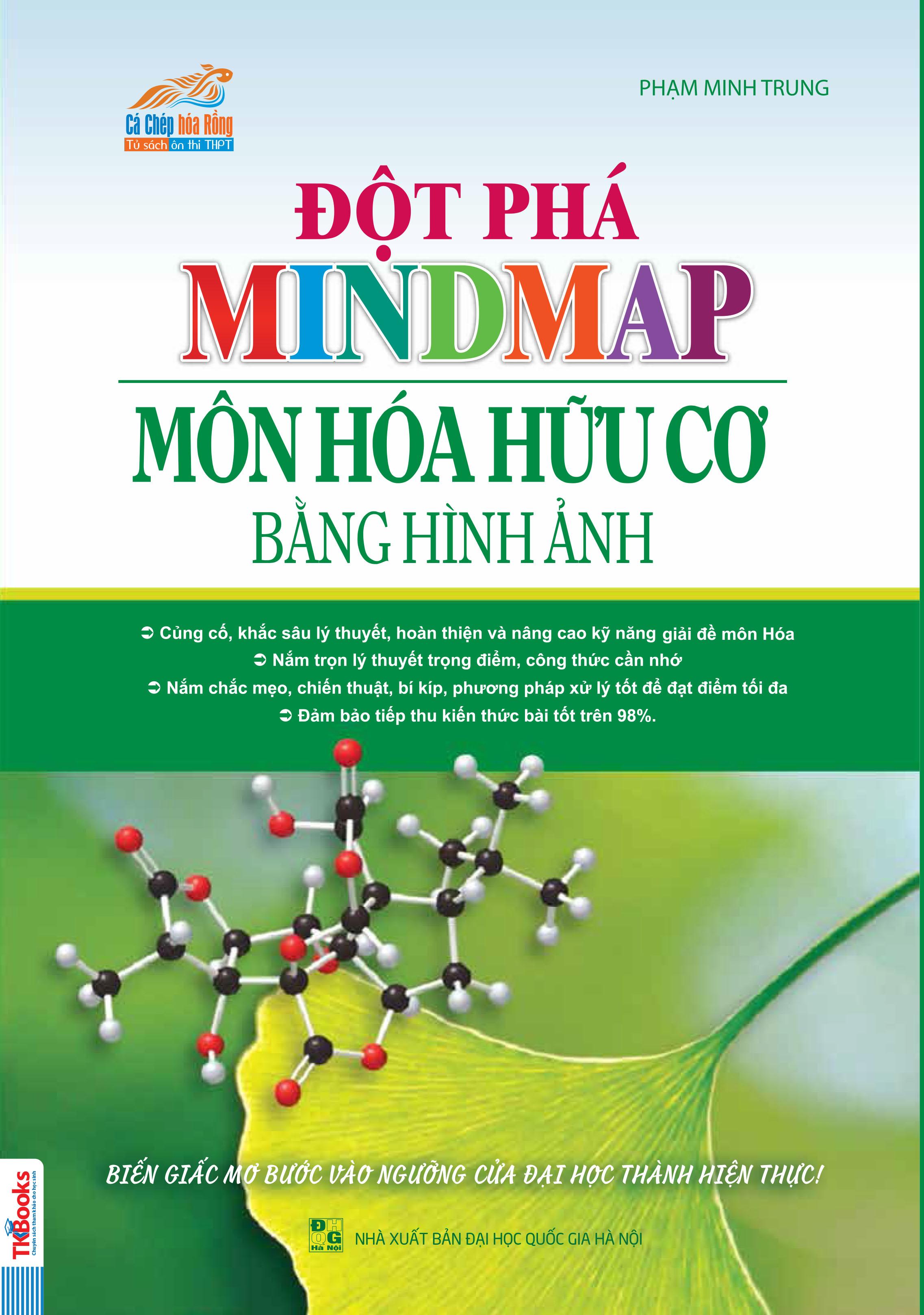 Đột Phá Mindmap Môn Hóa Hữu Cơ Bằng Hình Ảnh - EBOOK/PDF/PRC/EPUB