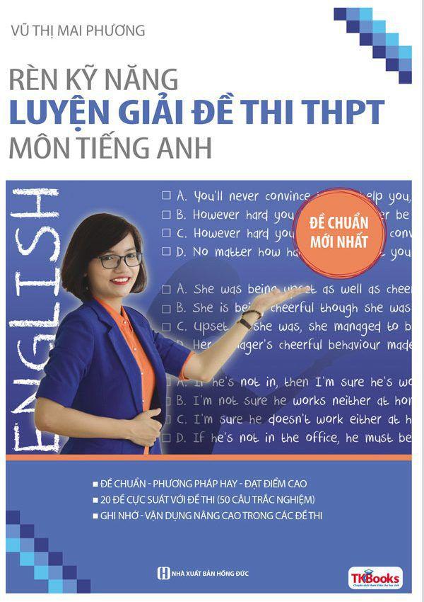 Rèn Kỹ Năng Luyện Giải Đề Thi THPT Môn Tiếng Anh - 50 Câu Hỏi Trắc Nghiệm - EBOOK/PDF/PRC/EPUB