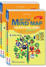 Đột Phá Mind Map Tư Duy Đọc Hiểu Môn Ngữ Văn Bằng Hình Ảnh Lớp 12 - Tặng Kèm Hộp Bút Chì 12 Màu