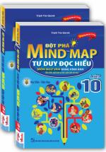 Đột Phá Mind Map Tư Duy Đọc Hiểu Môn Ngữ Văn Bằng Hình Ảnh Lớp 10 - Tặng Kèm Hộp Bút Chì Màu