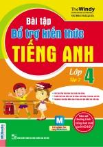 Bài Tập Bổ Trợ Kiến Thức Tiếng Anh Lớp 4-Tập 2
