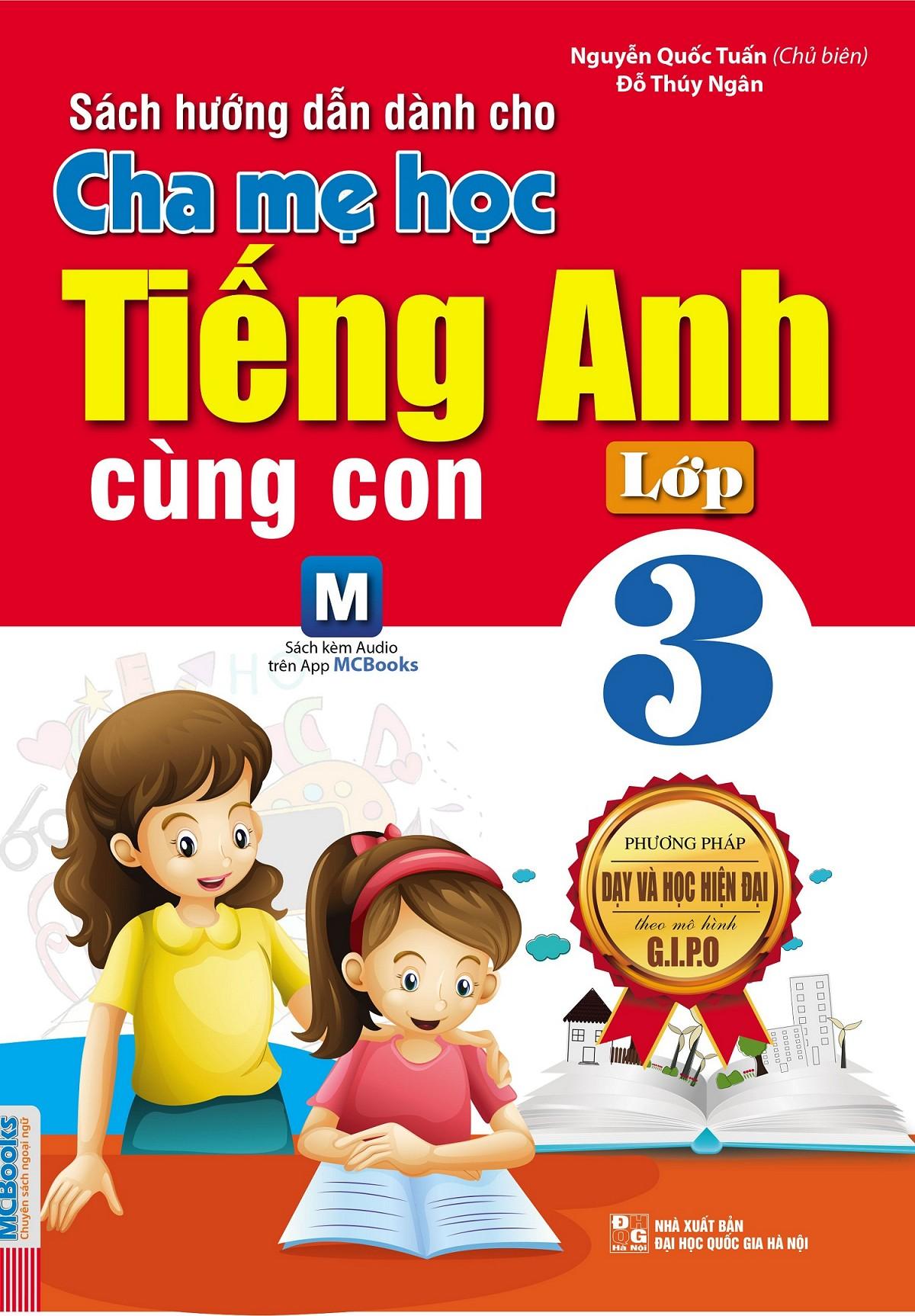 Cha Mẹ Học Tiếng Anh Cùng Con Lớp 3 - EBOOK/PDF/PRC/EPUB