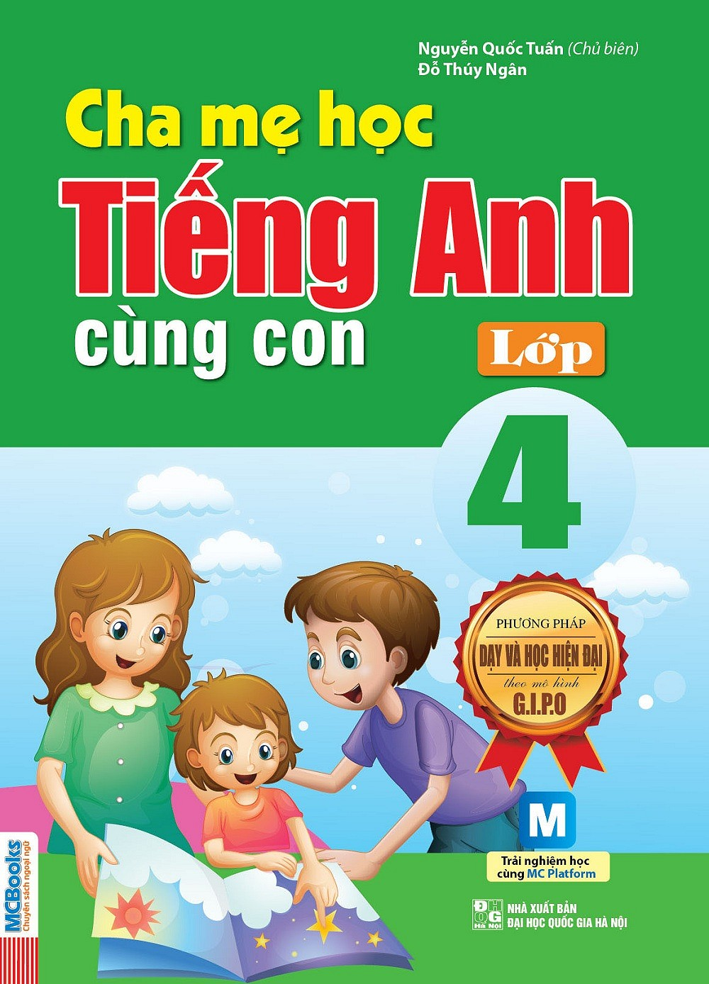 Cha Mẹ Học Tiếng Anh Cùng Con Lớp 4 - EBOOK/PDF/PRC/EPUB