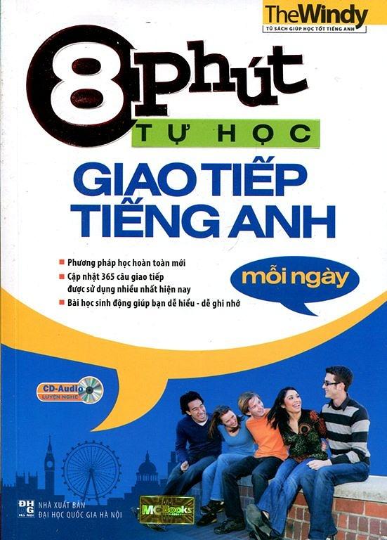 8 Phút Tự Học Giao Tiếp Tiếng Anh Mỗi Ngày (Kèm CD) - EBOOK/PDF/PRC/EPUB