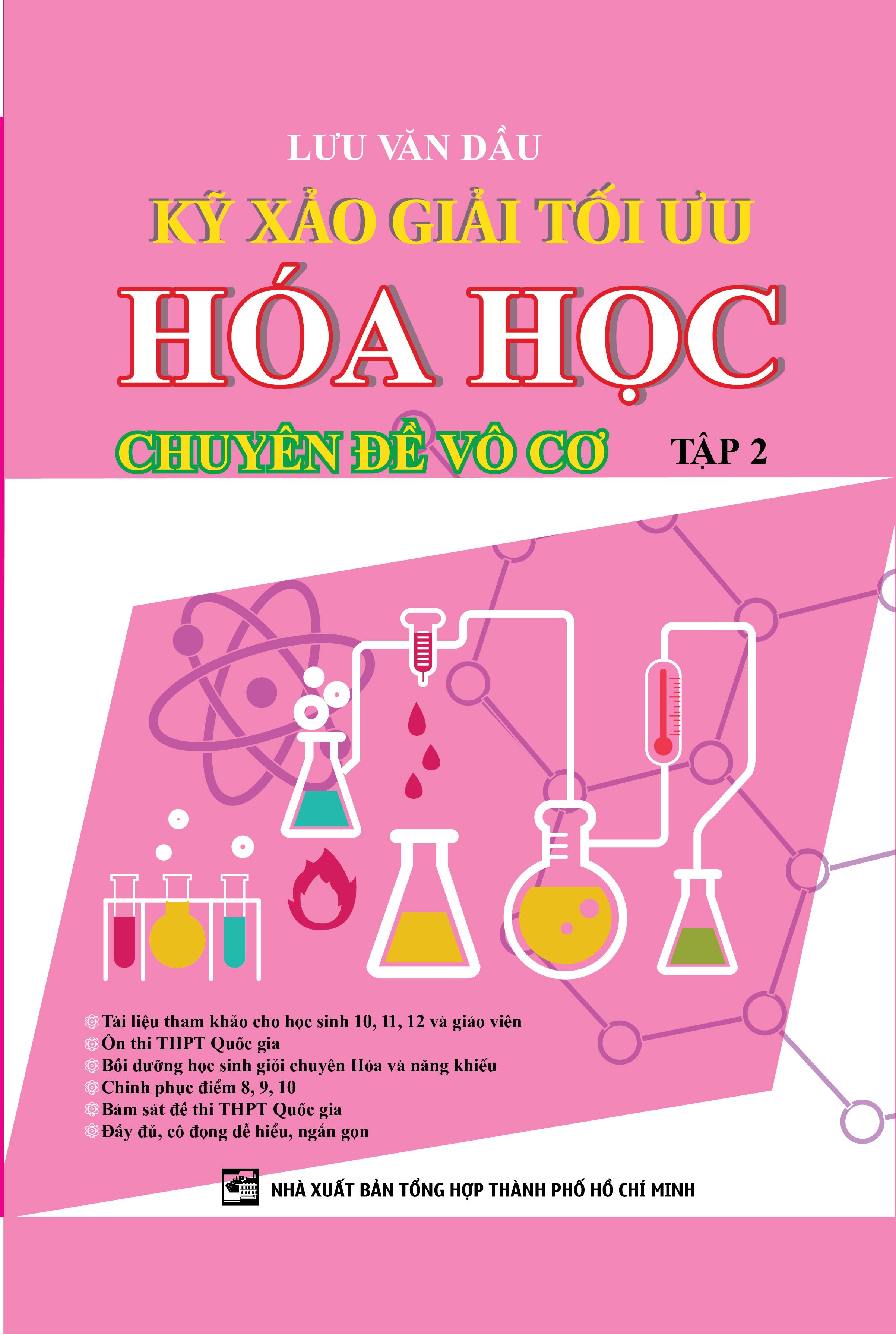 Kỹ Xảo Giải Tối Ưu Hóa Học Chuyên Đề Vô Cơ Tập 2