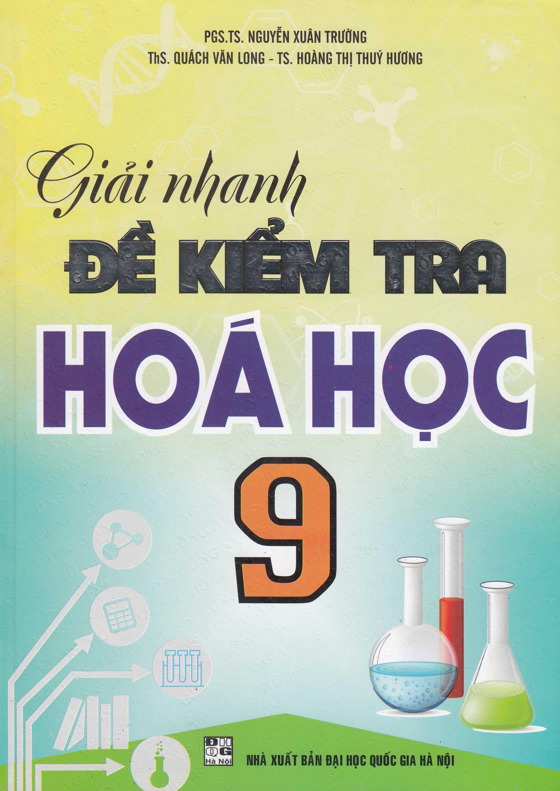 Giải Nhanh Đề Kiểm Tra Hóa Học 9