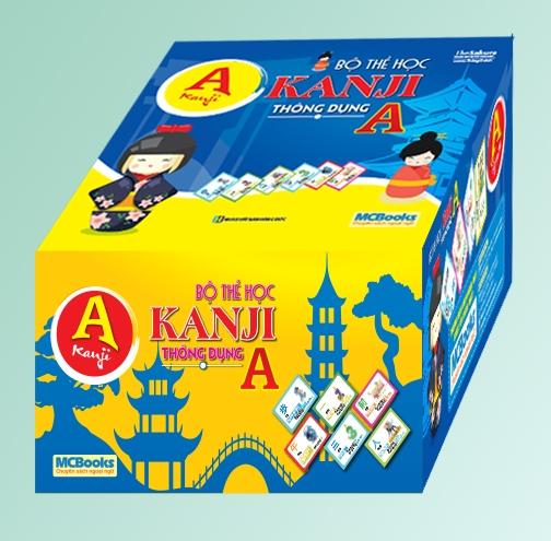 Bộ Thẻ Học Kanji Thông Dụng A - EBOOK/PDF/PRC/EPUB