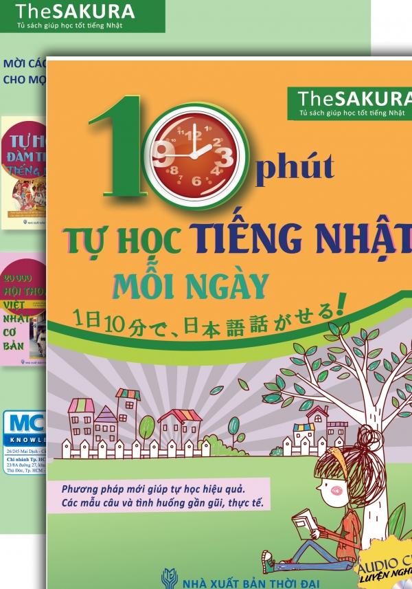 10 Phút Tự Học Tiếng Nhật Mỗi Ngày (Kèm CD)