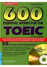 600 Essential Words For The Toeic - Kèm CD
