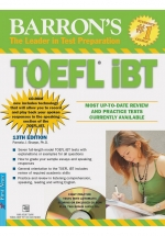 Barron's Toeft IBT 13th Edition - Kèm CD