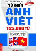 Từ Điển Anh Việt 125000 Từ