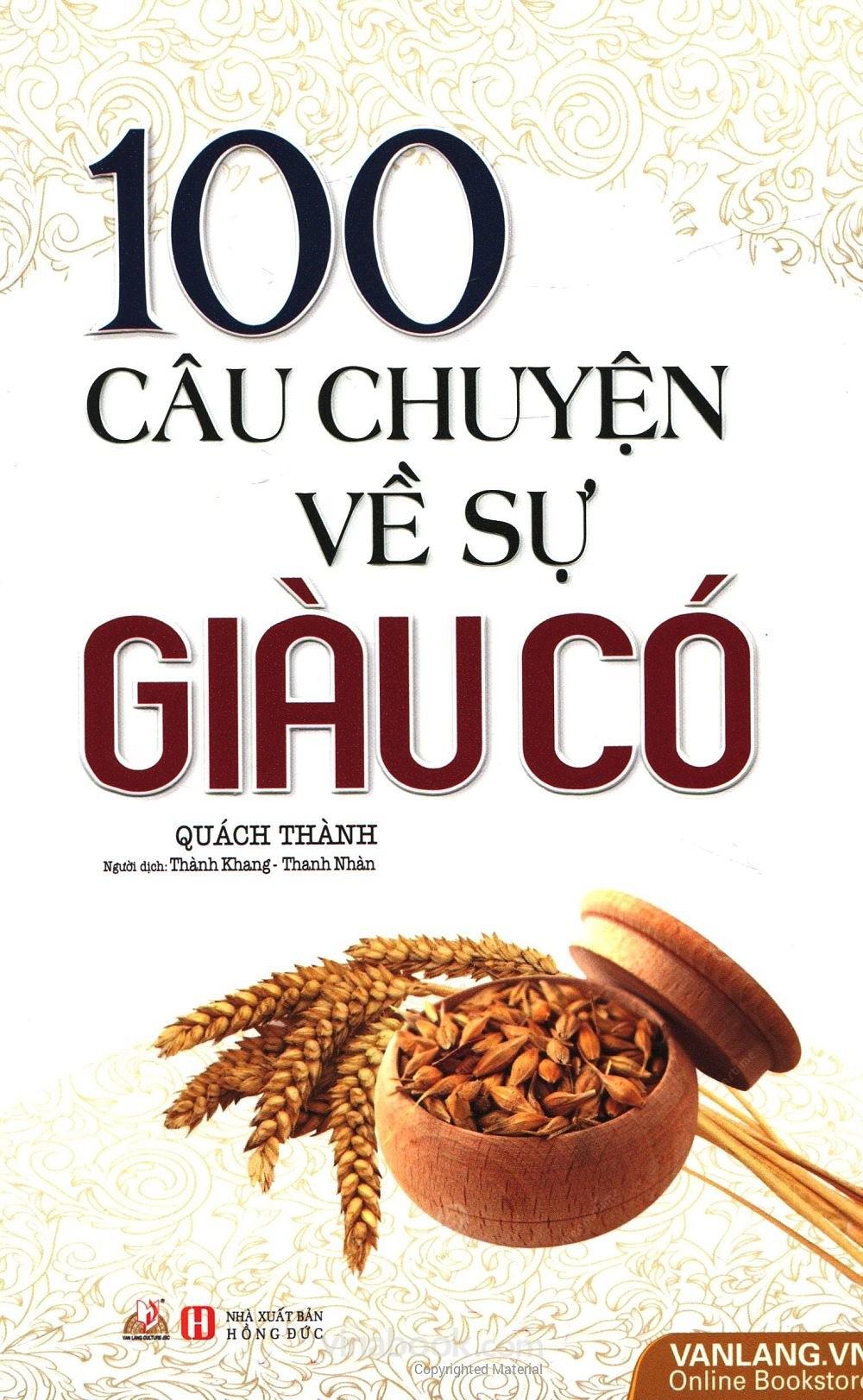 100 Câu Chuyện Về Sự Giàu Có - EBOOK/PDF/PRC/EPUB