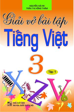 Giải Vở Bài Tập Tiếng Việt 3/1 - EBOOK/PDF/PRC/EPUB
