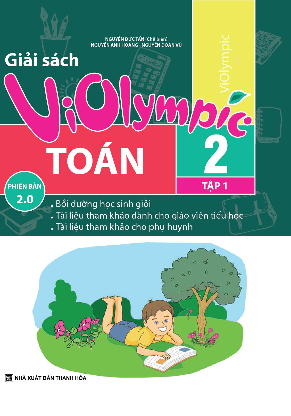 Giải Sách Violympic Toán 2 Tập 1 Phiên Bản 2.0 - EBOOK/PDF/PRC/EPUB