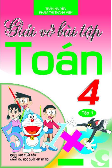 Giải Vở Bài Tập Toán 4 Tập 1 - EBOOK/PDF/PRC/EPUB