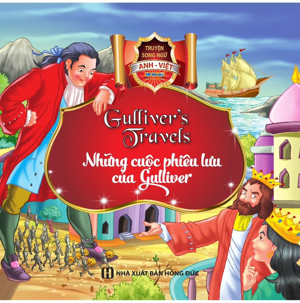 Truyện Song Ngữ Anh Việt - Những Cuộc Phiêu Lưu Của Gulliver - EBOOK/PDF/PRC/EPUB